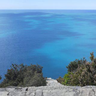 Un tuffo dove l'acqua è più blu . Photos by Silvia Nardi
